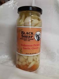 Habanero Pickled Garlic Cloves